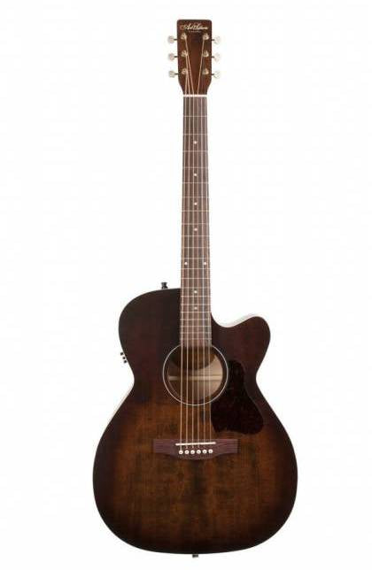 Art & Lutherie 042340 Legacy (Bourbon Burst CW QIT) - Electric Acoustic Guitar 電木結他