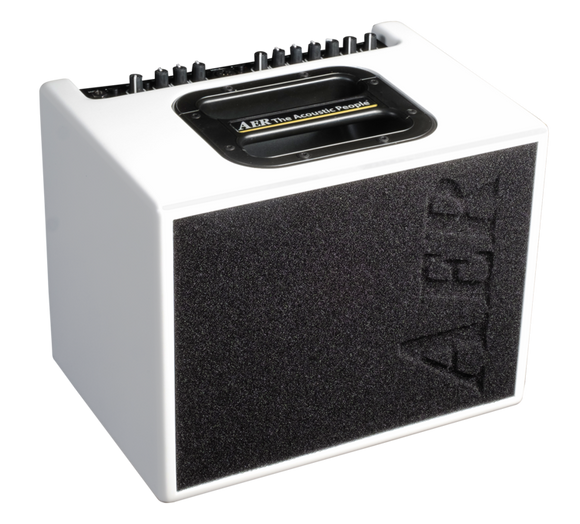 AER Compact 60_4 Acoustic Guitar Amplifier, White Matte
