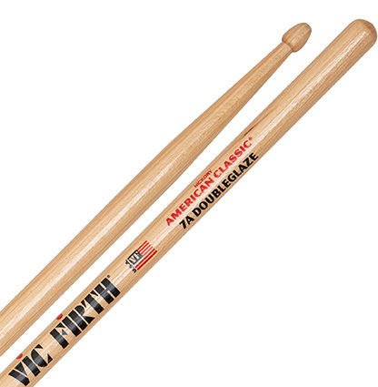 Vic Firth American Classic 7A - Double Glaze Drumsticks