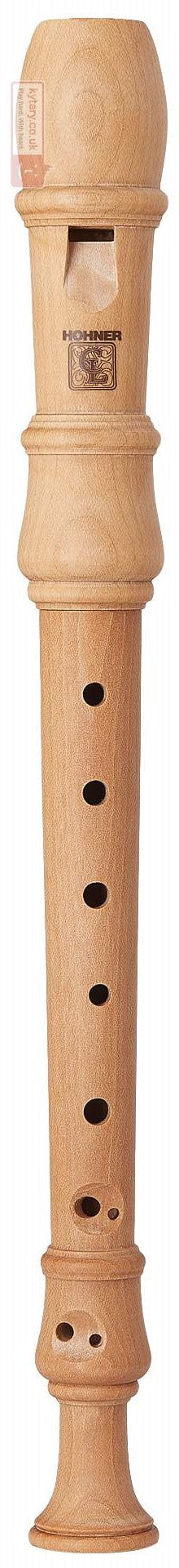 Hohner Wooden Soprano Recorder - Baroque system ( Various wood styles  )