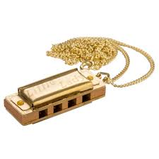 Hohner Little Lady- 4-holes Gold-plated necklace