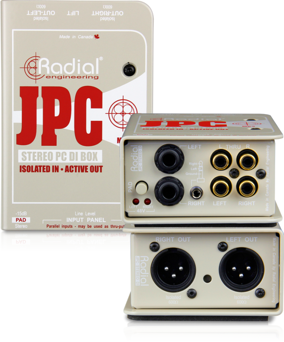Radial JPC Stereo Direct Box
