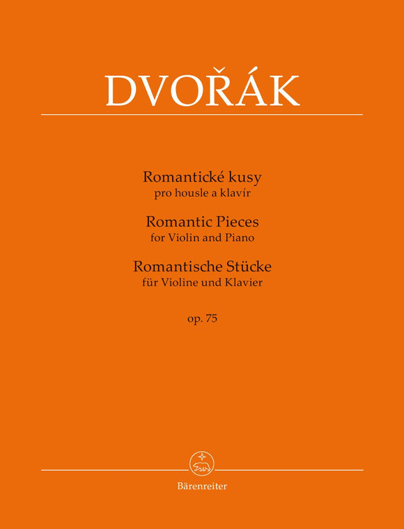 Dvorak-Romantic-Pieces-for-Violin-and-Piano-op-75