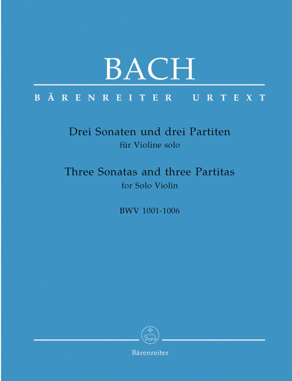 Bach-Johann-Sebastian-Three-Sonatas-and-three-Partitas-for-Solo-Violin-BWV-1001-1006