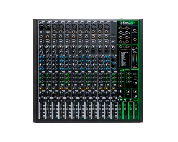 Mackie PROFX16v3  16-Channel Professional Effects Mixer with USB