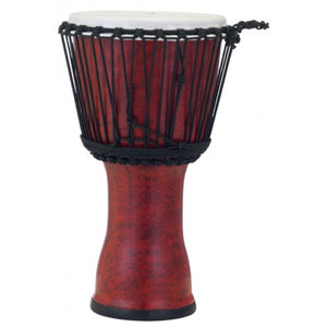 "PEARL 10"" Rope Tuned Djembe, Molten Scarlet"