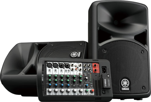 Yamaha STAGEPAS400/BT portable PA system with bluetooth
