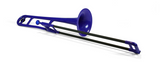pBone Bb Plastic Trombone (assorted colors)