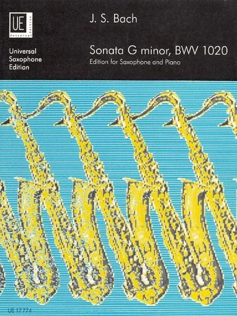 Johann Sebastian Bach: Sonata for soprano, alto or tenor saxophone and piano BWV 1020