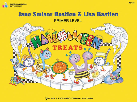 Bastien Halloween Treats Primer Level