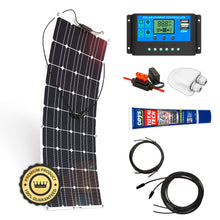 Load image into Gallery viewer, Kit Placa Solar Flexible 700 W/H/Día 12V Furgoneta Camper & Autocaravana - SolarCell99