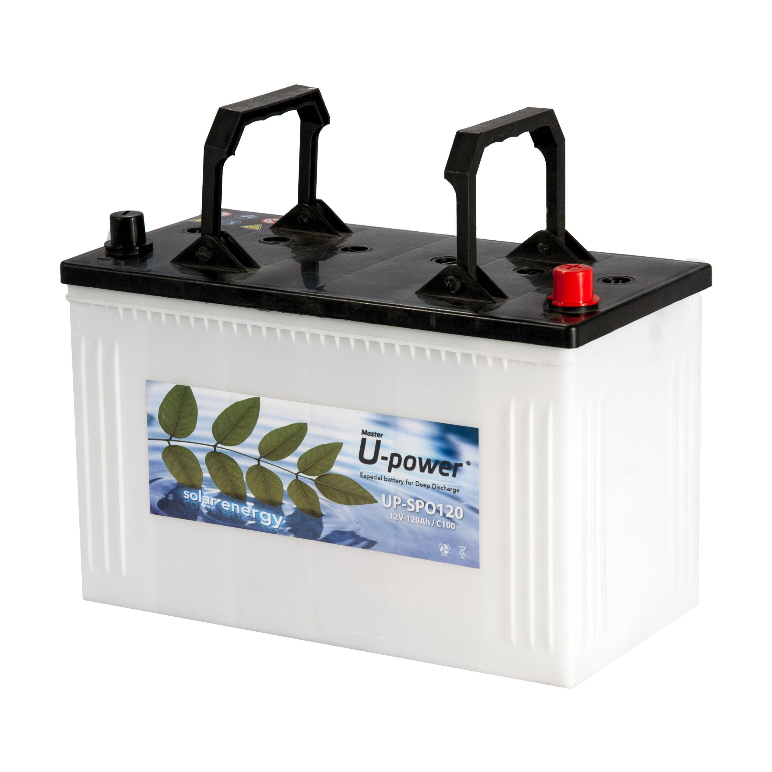 AGM BATTERY 120ah 12V for Camper & AC Van