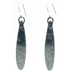 Long Teardrop Earrings