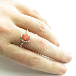 Orange Classic Ring