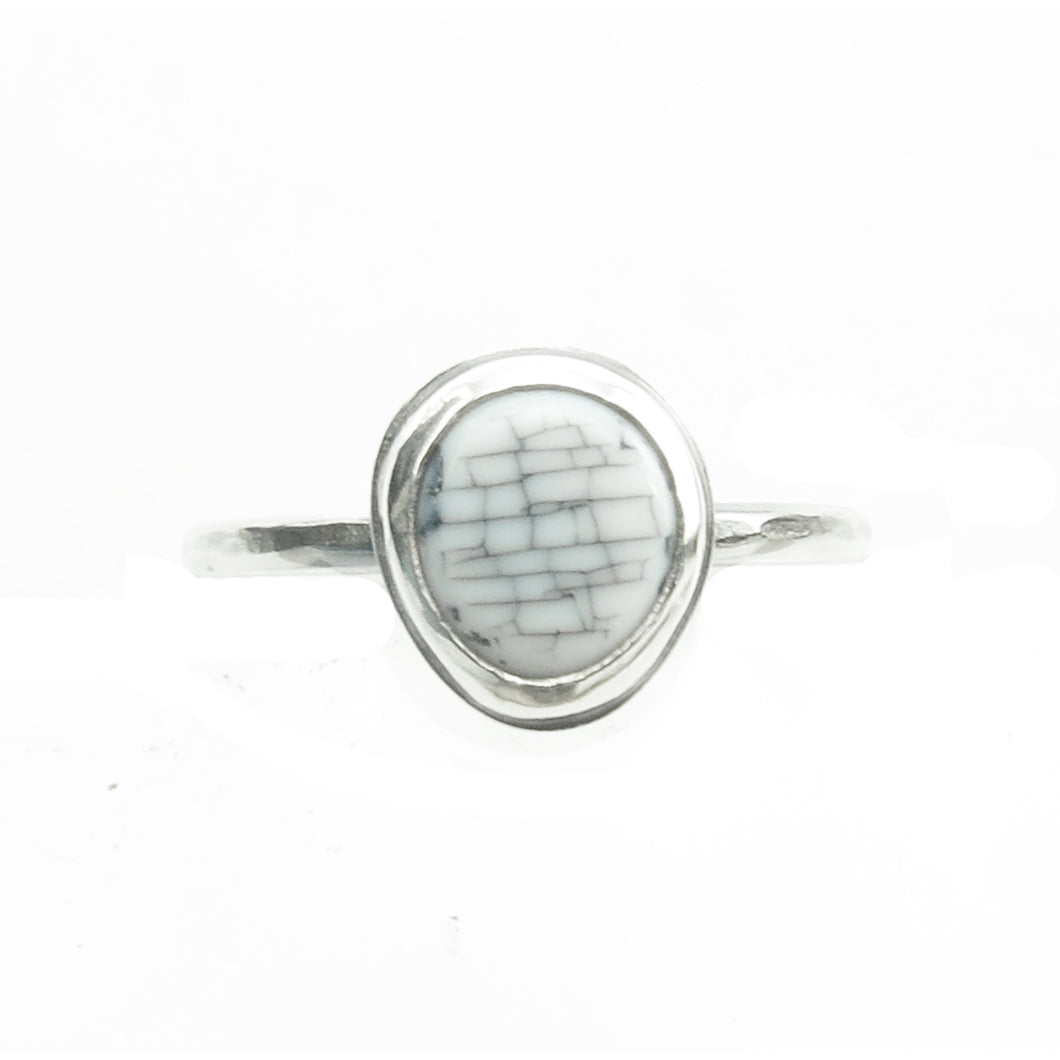White Classic Ring