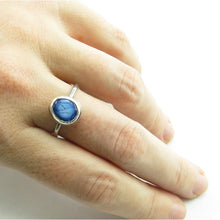 Load image into Gallery viewer, Dark Blue Classic Ring
