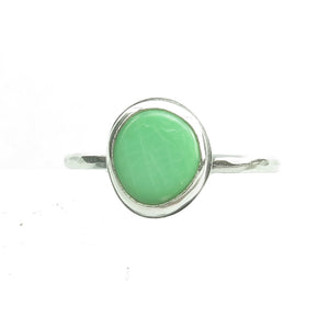 Light Green Classic Ring