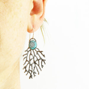 Sea Fan Earrings
