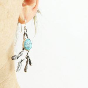 Seaweed Earrings