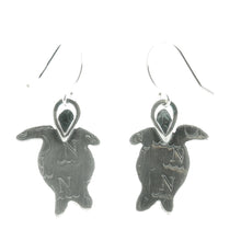 Load image into Gallery viewer, Small Turtle Earrings
