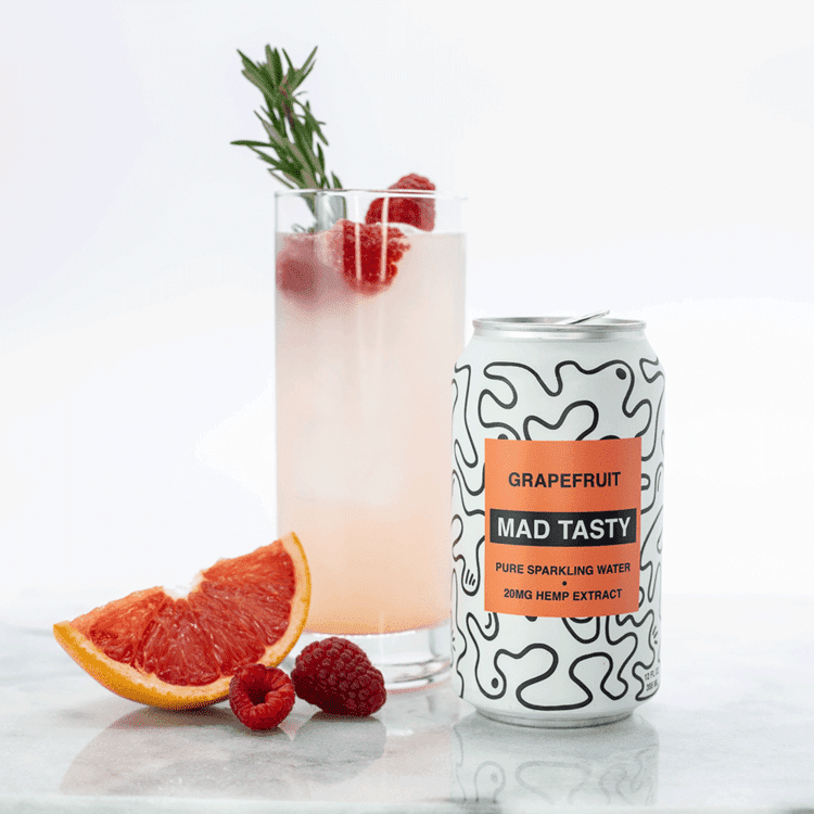 DELICIOUS MAD TASTY RECIPES: MOCKTAILS FEATURING ONEREPUBLIC MUSICIAN RYAN TEDDER'S HEMP SPARKLING WATER