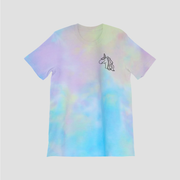 UNICORN TEARS TIE DYE TEE - MAD TASTY
