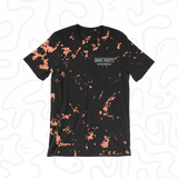 BLACK GRAPEFRUIT TIE DYE TEE