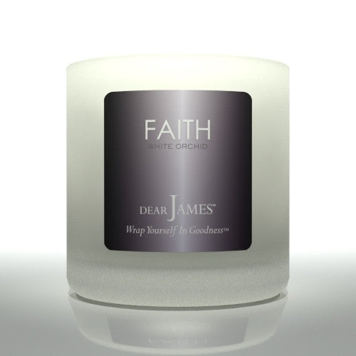 FAITH • White Orchid • Luxury Luminary Collection by DearJames®
