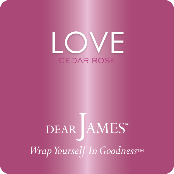 LOVE • Cedar Rose • Luxury Luminary Collection by DearJames®