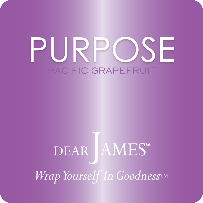 PURPOSE • Pacific Grapefruit • Luxury Luminary Collection by DearJames®