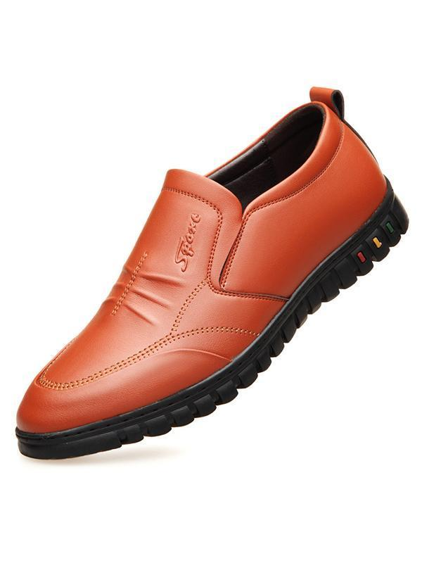 Men Casual Simple Flat Shoes