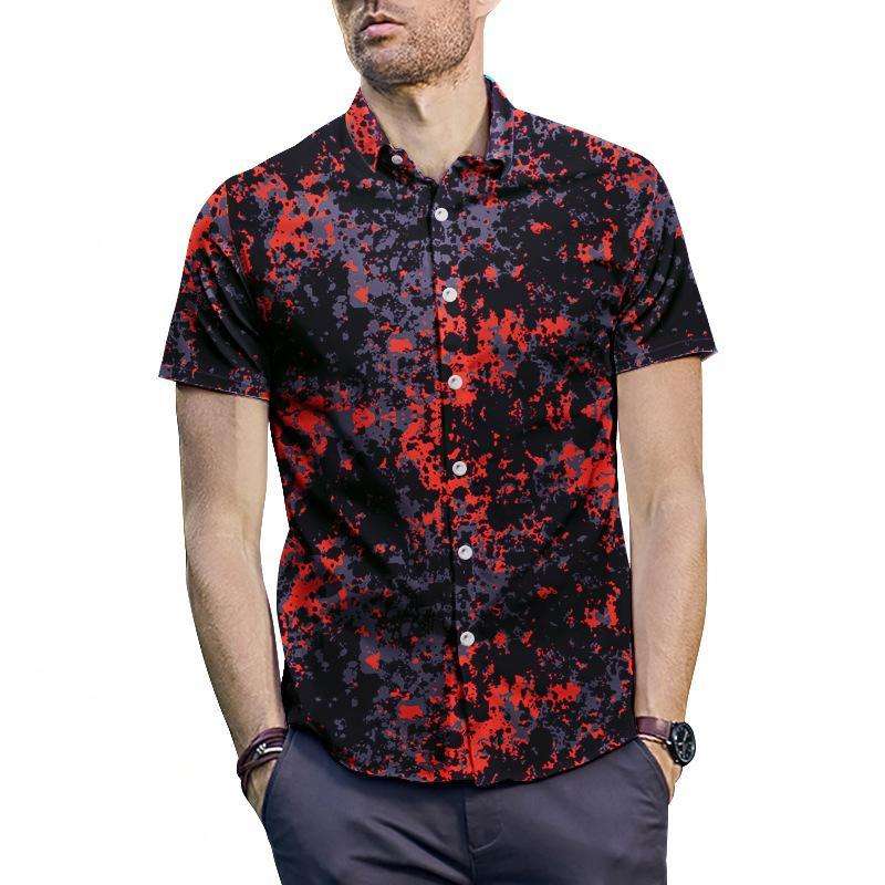 Men Casual Short Sleeve Shirts