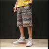 Men Ethnic Printed Beach Shorts
