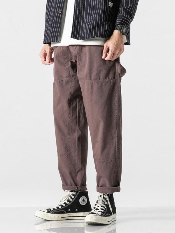 Men's Solid Simple Casual Pants
