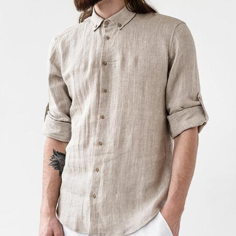 Men Casual Long Sleeves Shirt