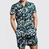 Men Casual Floral Suits