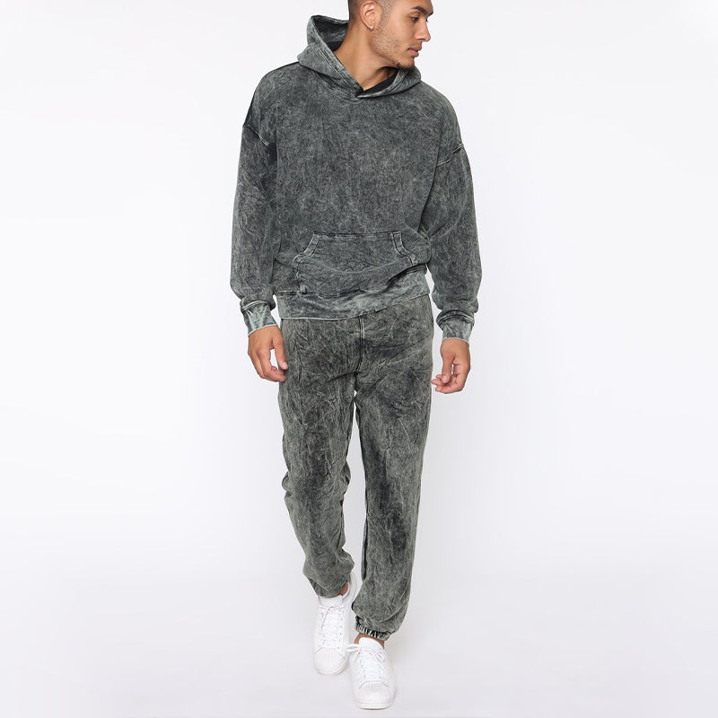 Track Sweatshirt Jogger Two-Piece Suit