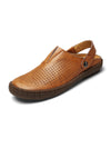 Men Hollow Breathable Sandals Casual Shoes
