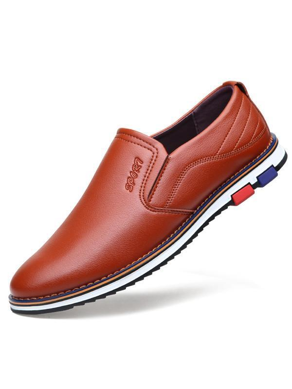 Men Casual Slip-on Loafer Flat Shoes