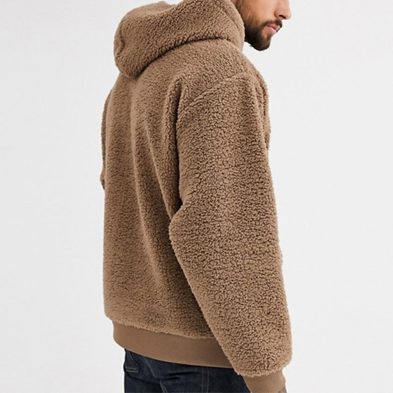 Men Hooded Pullover Casual Hoodied