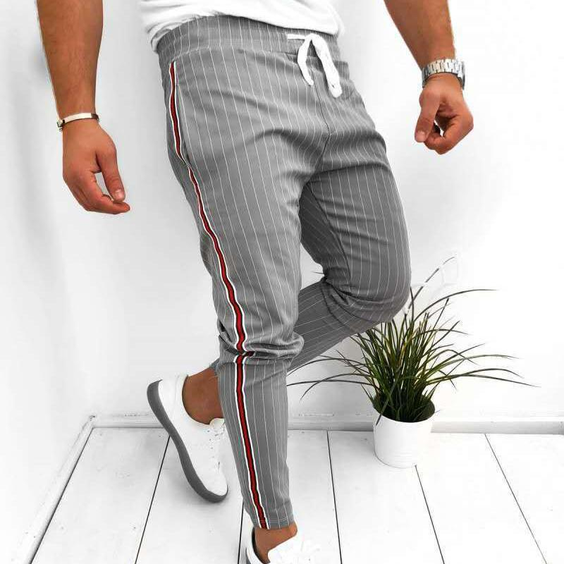 Men Chic Drawstring Pants