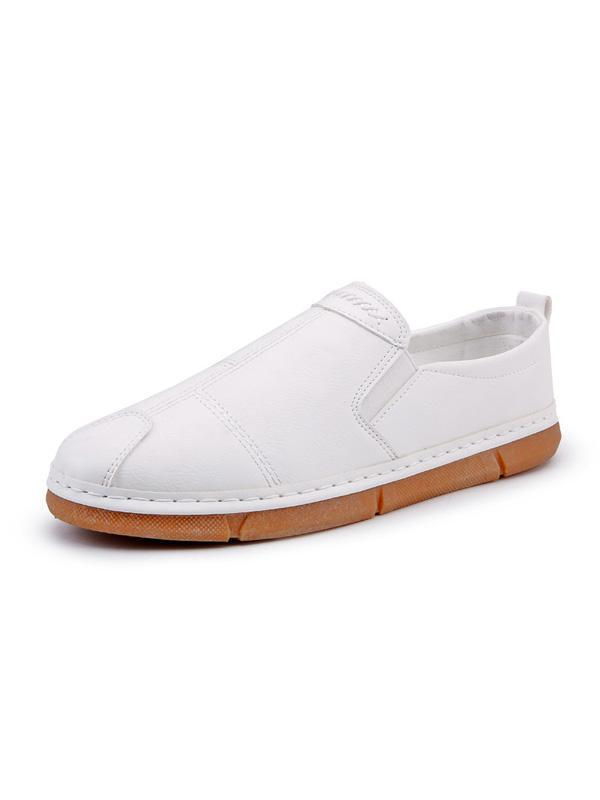Men Slip-on Casual Simple Flat Shoes