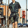 Men Street Fashion Short Sleeves Two-Piece Sets