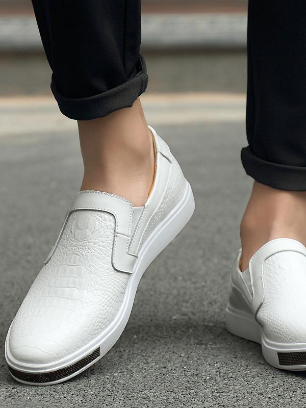 Men Casual Slip-on Simple Flat Shoes