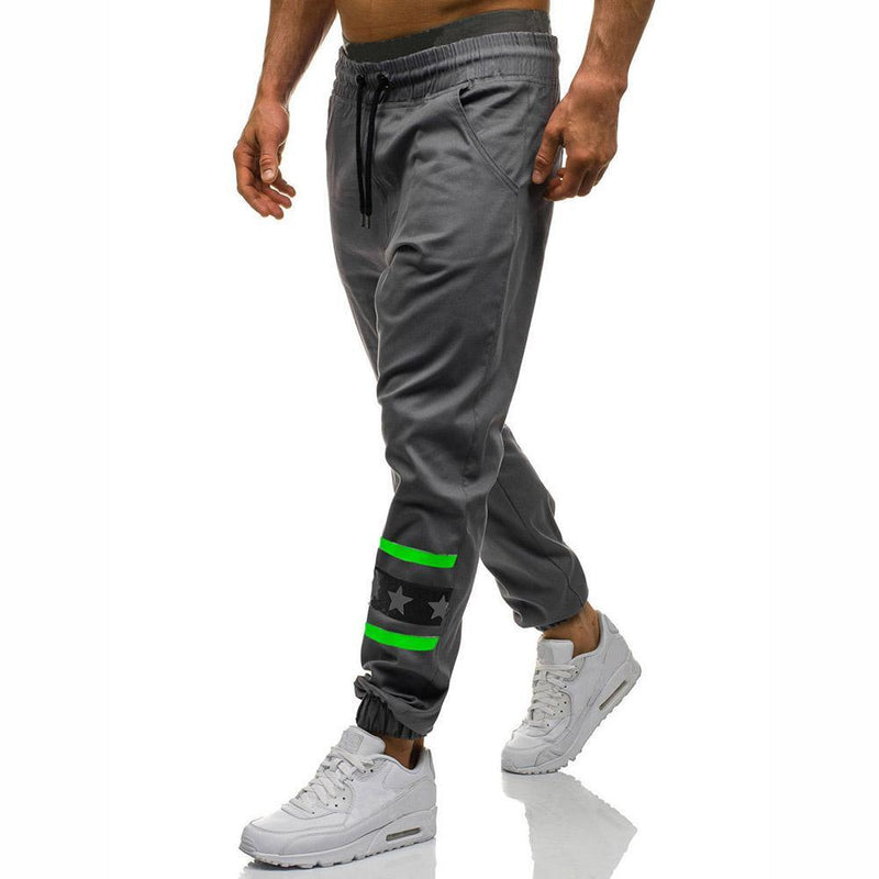 Men Casual Printing Sport Pants