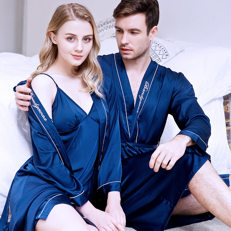Soft Loungewear Pajamas Casual Robes Homewear