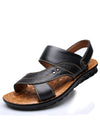 Solid Breathable Casual Flat Sandal
