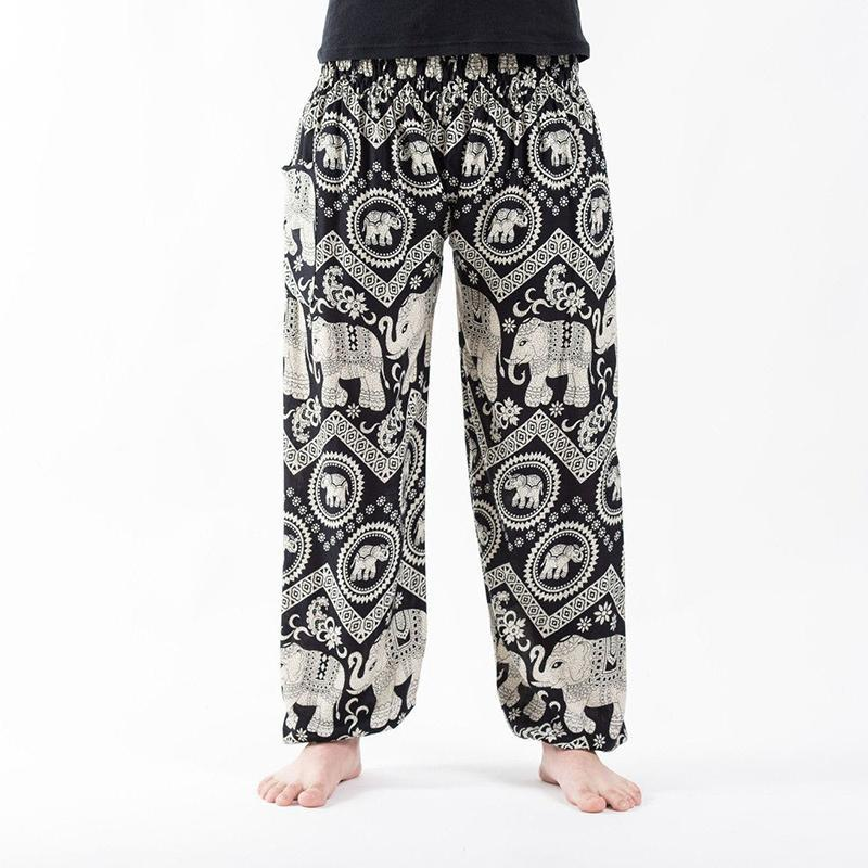 Men Southeast Asian Traditional  Printed Pants