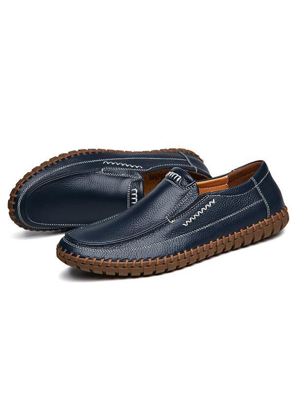 Men Casual Slip-on Fashion Loafers Flat Shoes