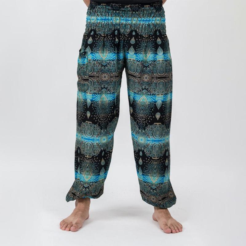 Men Thai Printed Harem Pants